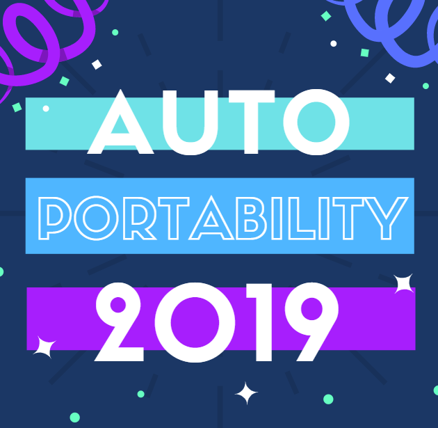 Auto Portability 2019: The Year in Review