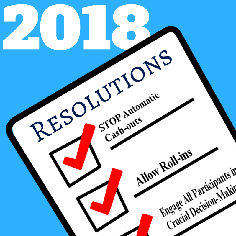 The Most Urgent New Year's Resolutions for Plan Sponsors